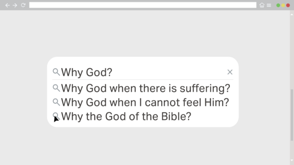 Why does God allow suffering? Image